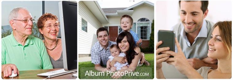 Un système de notifications automatisés alertent les invités à chaque nouvelle création d'albums photos ou ajout de vidéo de la part des parents.