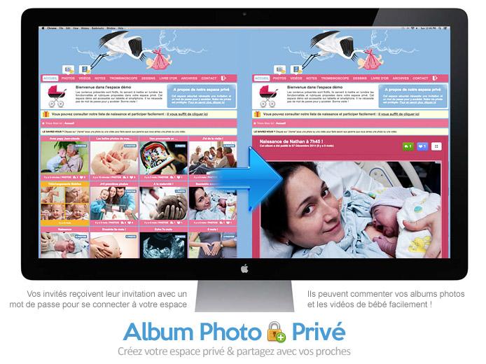 Photos de bébé : comment les partager avec la famille