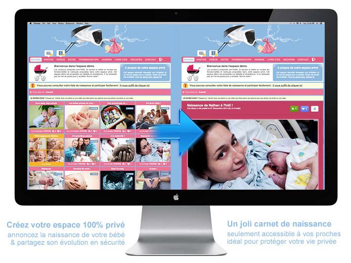 Blog naissance Bébé : créer un espace photo sécurisé pour partager les photos de votre nouveau-né en toute sécurité !