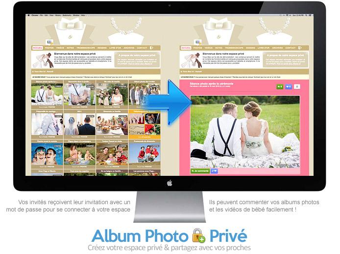 Photos de mariage : partagez-les avec vos invités en toute sécurité