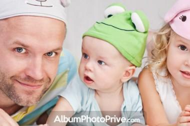 Album photo bébé en ligne sécurisé à partager en famille