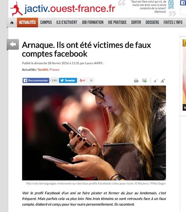Arnaque sur Facebook : lorsque les victimes témoignent