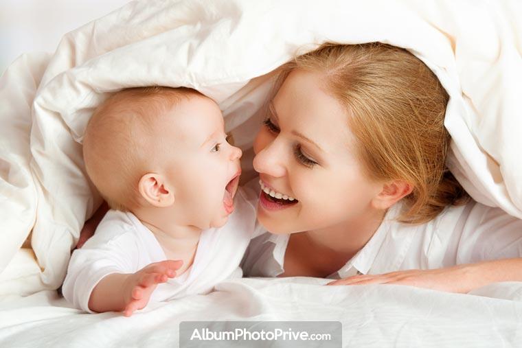 Blog bébé sécurisé pour choisir avec qui l'on veut partager
