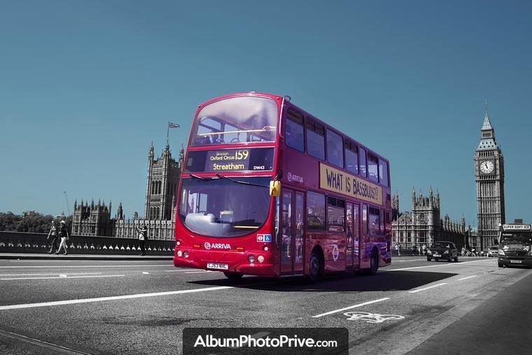 Voyage scolaire : Idéal pour partager les photos d'un voyage scolaire à Londres ou pour une classe verte de quelques jours