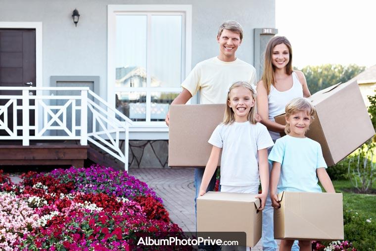 La plateforme familiale permet de partager facilement un grand nombre de photos et de vidéos à distance, et de façon sécurisée, pendant son expatriation ou une fois le déménagement terminé.