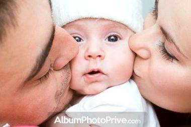 Grossesse, naissance, bébé : créez l'album photo privé en ligne