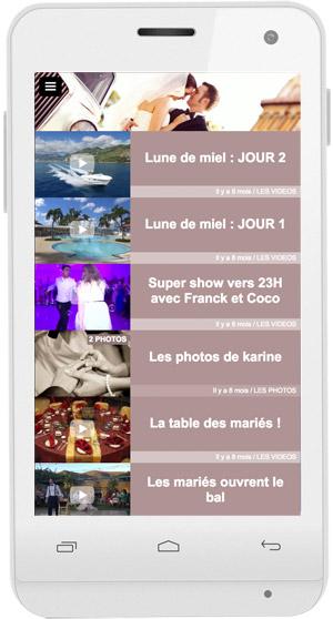 Appli mariage : Créez votre espace privé sur mobile pour partager votre mariage