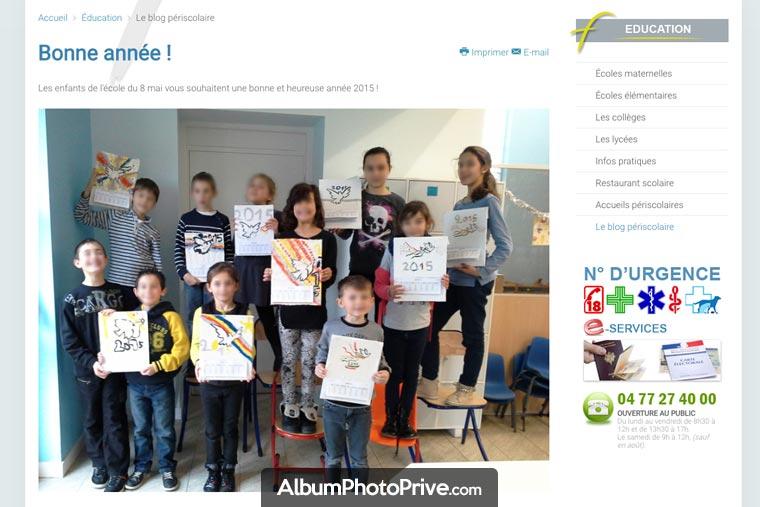 Blog de TAP : attention si vous partagez des photos des enfants sur un blog à accès public