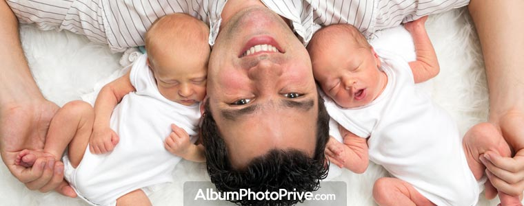 Partager l'évolution de son bébé en sécurité avec sa famille