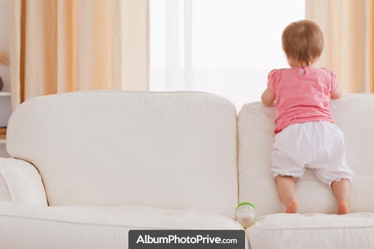Photos bébé et évolution : créez votre espace privé et partagez vos photos seulement avec vos proches