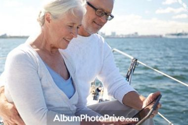 Partager ses photos de vacances à distance avec famille et amis