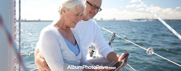 Pendant les vacances, comment partager ses photos avec ses amis ?