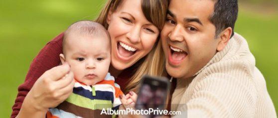 Mon journal bébé : partage photos privé avec famille et amis