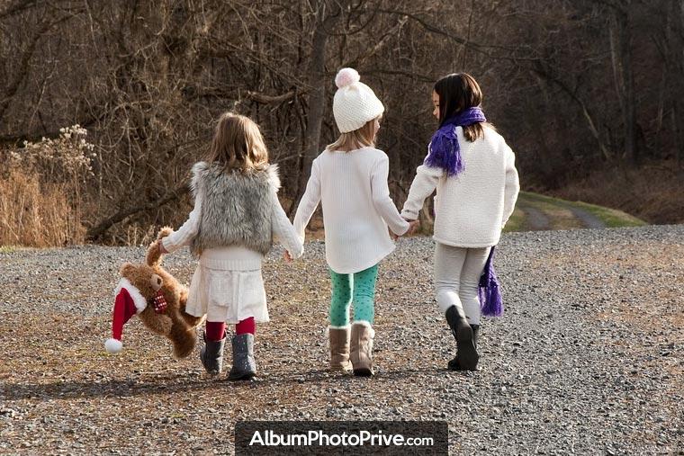 Partagez vos photos de Noël en famille en toute sécurité avec votre famille éloignée en créant votre espace privé