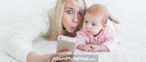 La première appli photo bébé sécurisée sans installation