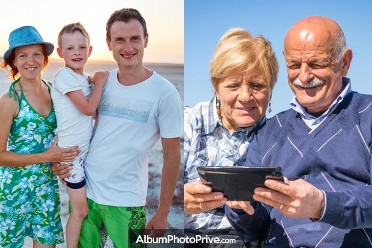 Pour partager des vidéos de famille sur Internet, créer son espace privé sur une plateforme dédiée offre de réelles garanties de protection de la vie privée.