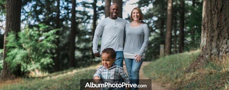 Création d'un blog familial privé