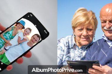 Comment utiliser le partage d'album photo privé ?