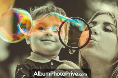 Partagez facilement vos albums photo en ligne avec mot de passe