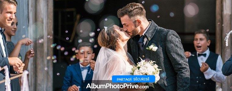 Site ou application pour récupérer les photos de mariage faites par ses invités ?