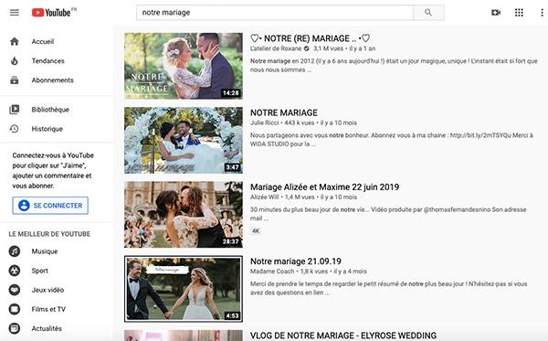 Récupérer les photos de son mariage ou ses vidéos auprès de ses invités ?